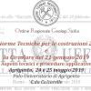 "Seminario ""Norme NTC: la Circolare 21 Gennaio 2019"". Agrigento, 24 e 25 Mag. 2019"