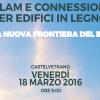 Incontro su XLAM e Edifici in Legno. Castelvetrano, Ven. 18 Marz. 09:00