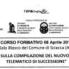 Corso sulla Compilazione Modello Successione. Sciacca, Lun. 8 Apr. 14:00
