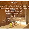 Seminario: Costruire con il Legno. Perchè no? San G. Gemini, Ven. 20 Apr. 15:00