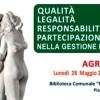 Convegno su Qualità, legalità, responsabilità e partecipazione della gestione dei rifiuti. Agrigento, Lun. 28 Mag. 15:00