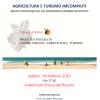 Seminario AGRICOLTURA E TURISMO IMCOMPIUTI. Ribera, Sabato 28 Feb.