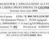 Pubblicazione dei Risultati della Prova Orale di Esame del 23 Novembre dei Candidati Idonei