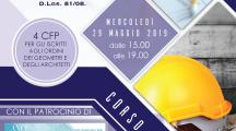 Corso Formazione su Sicurezza sul Lavoro. Agrigento, Merc. 29 Mag. 15:00