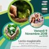 Lectio magistralis su cambiamenti climatici e futuro delle comunità locali. Cammarata, Ven. 9 Nov. 09:00