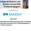 Seminario: La Responsabilità Professionale del Geometra e le Coperture Assicurative. Agrigento, LUN 12 Dic.16:00