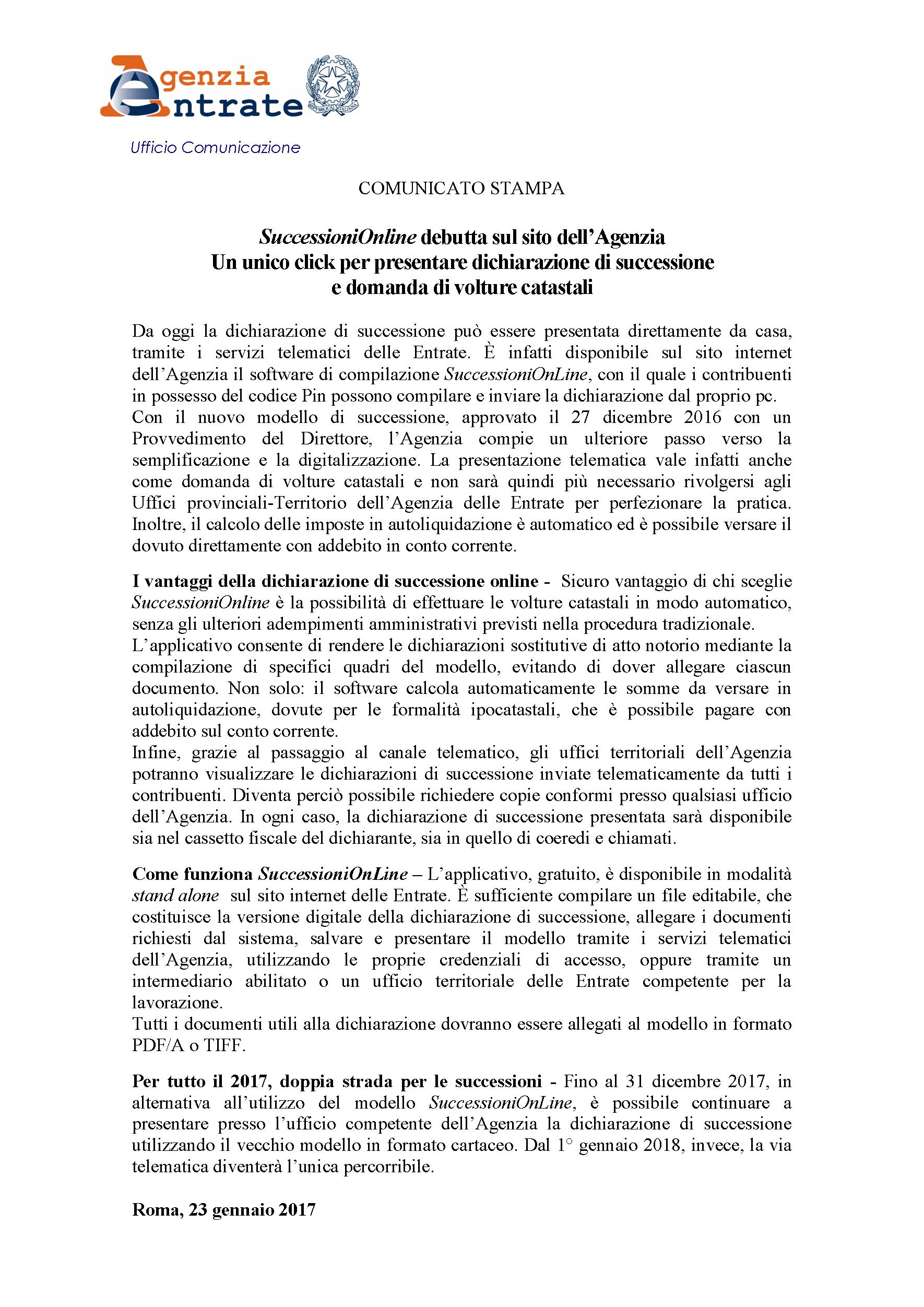 Agenzia Dellu0027Entrate: Successioni E Volture Catastali, Ora Basta Un Click |  Collegio Dei Geometri Di Agrigento