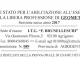 Esami Abilitazione 2017: Risultati prove orali del 10 Novembre
