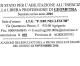 Pubblicazione dei Risultati della Prova Orale di Esame del 22 Novembre dei Candidati Idonei